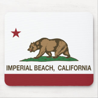 California State Flag Imperial Beach Mouse Pad