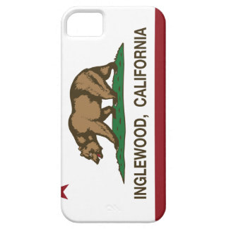 California State Flag Inglewood iPhone 5/5S Case