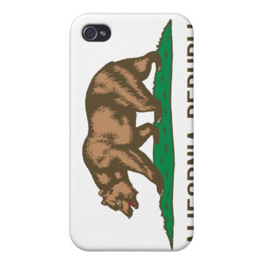 CALIFORNIA State Flag iPhone 4 Covers
