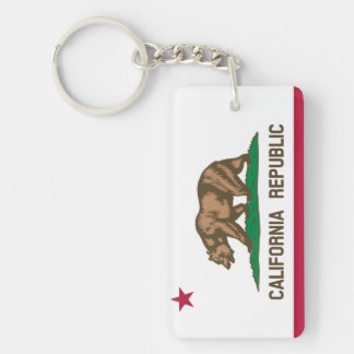 California State Flag Keychain