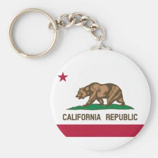 California State Flag Keychain