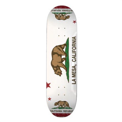 California State Flag La Mesa Skateboard Deck