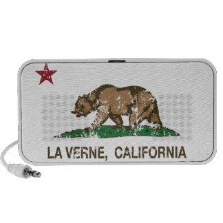 California State Flag La Verne Speaker System