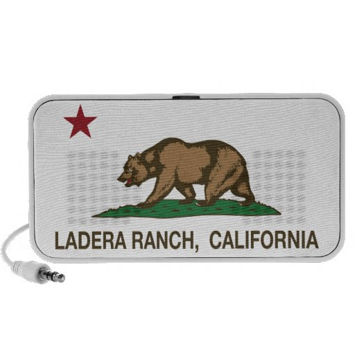 California State Flag Ladera Ranch Speaker System