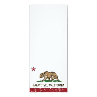 California State Flag Lafayette Card
