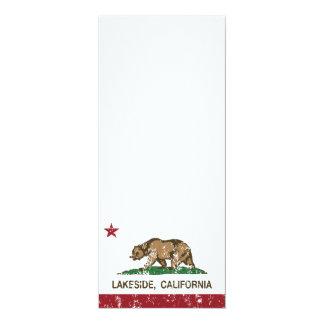 California State Flag Lakeside Card