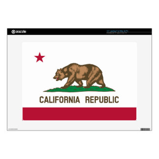 California State Flag Laptop Decals