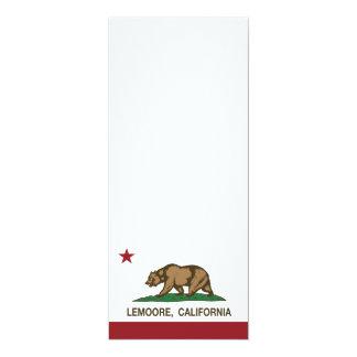 California State Flag Lemoore Card