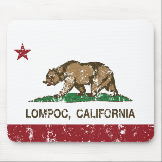 California State Flag Lompoc Mouse Pad