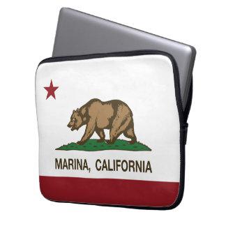 California State Flag Marina Computer Sleeve