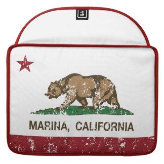 California State Flag Marina Sleeve For MacBook Pro