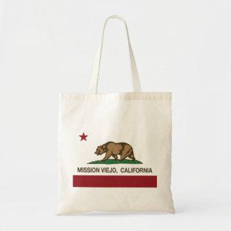 California State Flag Mission Viejo Tote Bag