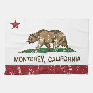California State Flag Monterey Hand Towels