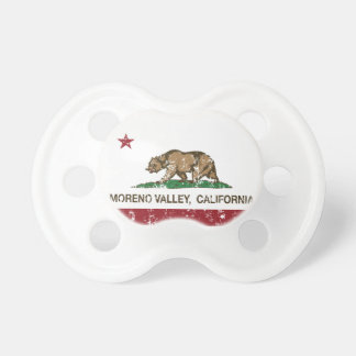 California State Flag Moreno Valley Baby Pacifier