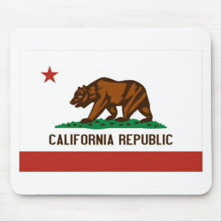 California State Flag Mouse Pad