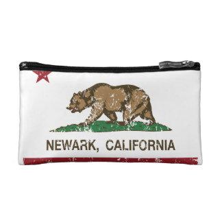 California State Flag Newark Makeup Bags