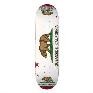 California State Flag Oceanside Skateboard