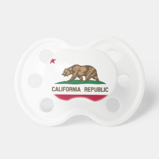California State Flag Pacifier