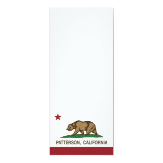 California State Flag Patterson Card