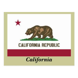 California State Flag Postcard
