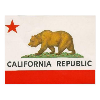 California State Flag Postcards
