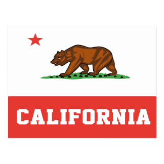 California State Flag Postcard