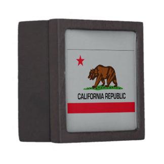 California State Flag Premium Keepsake Boxes