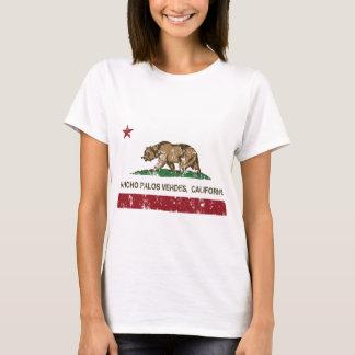 California state flag Rancho Palos Verdes T-Shirt
