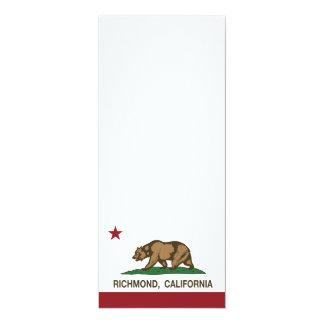 California State Flag Richmond Card