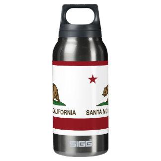 California State Flag Santa Monica Insulated Water Bottle