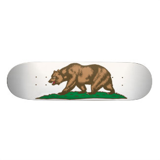 California State Flag Custom Skateboard