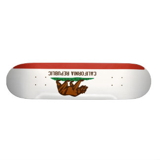 California State Flag Skateboard