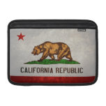 California State Flag Sleeves For MacBook Air