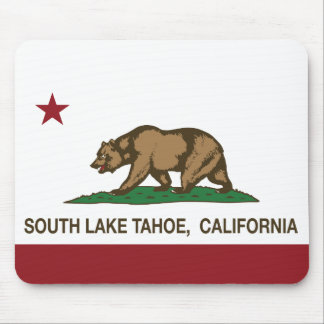 California State Flag South Lake Tahoe Mouse Pad