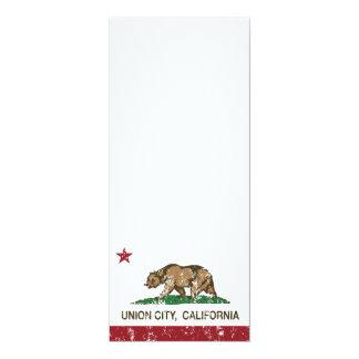 California State Flag Union City Card
