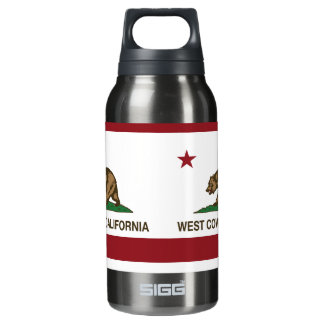 California State Flag West Covina Insulated Water Bottle
