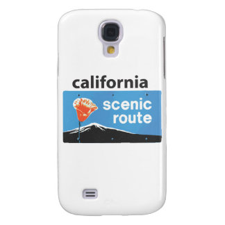 California State Highway Scenic Route Road Sign Samsung Galaxy S4 Case