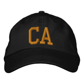 California State of California Embroidered Baseball Hat