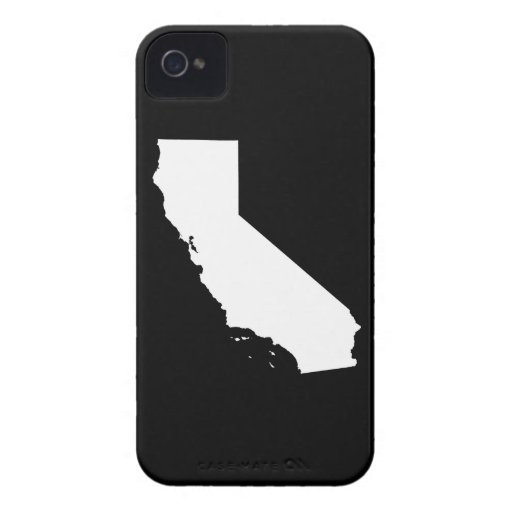 California State outline iPhone 4 Case