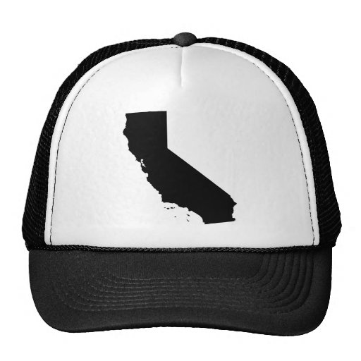 California State outline Hats