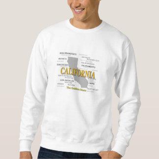 California State Pride Map Silhouette Sweatshirt