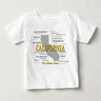California State Pride Map Silhouette T Shirt