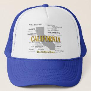 California State Pride Map Silhouette Trucker Hat 1755d7c32b10