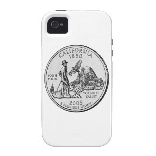 California State Quarter iPhone 4/4S Cover