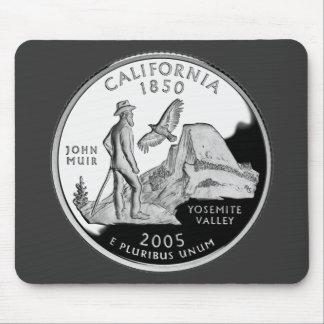 California State Quarter Mousepads