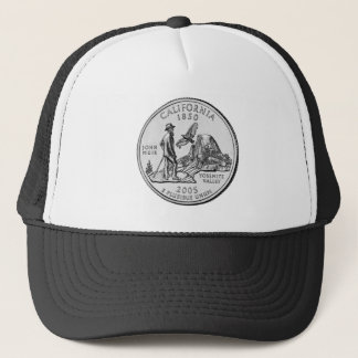 California State Quarter Trucker Hat