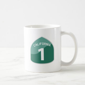 California State Route 1 Pacific Coast Highway Coffee Mug