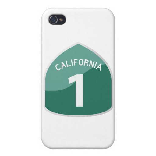 California State Route 1 Pacific Coast Highway iPhone 4 Case