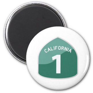 California State Route 1 Pacific Coast Highway Magnet