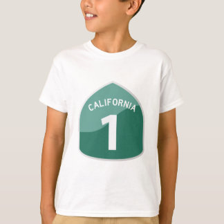 California State Route 1 Pacific Coast Highway T-Shirt